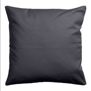 H&M Cushion cover- cotton canvas w/concealed zip